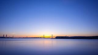 風景写真とND400フィルタの効果