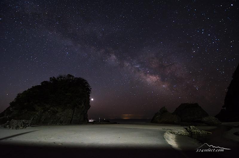 伊豆半島下田大浜の日の出・天の川撮影アクセスと撮影攻略!夏よりも冬がおススメの撮影地