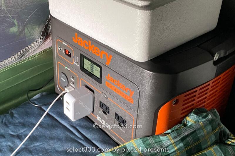 ポータブル電源Jackery(ジャクリ)車中泊や災害時の優れもの!手軽なリチウムバッテリー