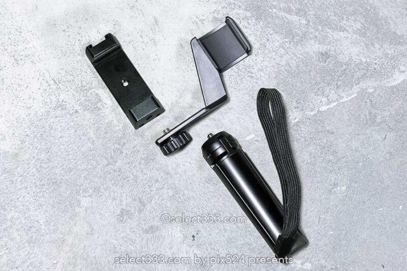 DJI Pocket 2専用マウント・スマホホルダーの使用感と拡張性!三脚ハンドストラップ