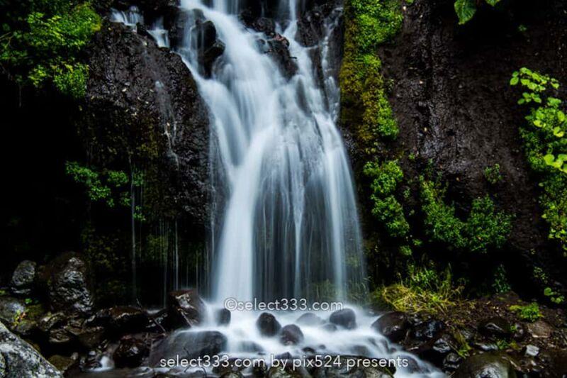 吐竜の滝!美しく糸を下すような水の筋!北杜市清里エリアの瀑布!大河ドラマロケ地