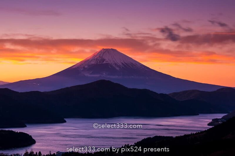 箱根から朝夕の富士山!朝焼け夕焼けに染まる富士山の絶景撮影地!大観山・芦ノ湖・乙女道路