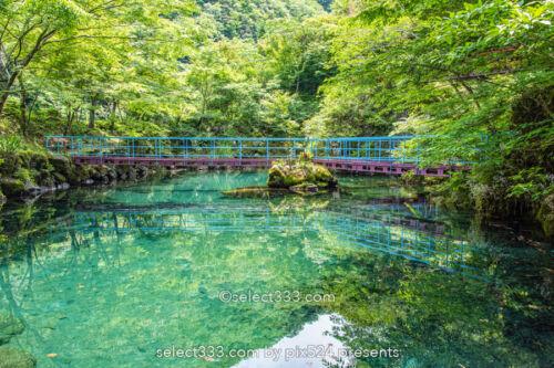 白龍湖の風景〜透明度抜群!翡翠色の美しい池〜神秘的エリア!魅力のフォトスポット