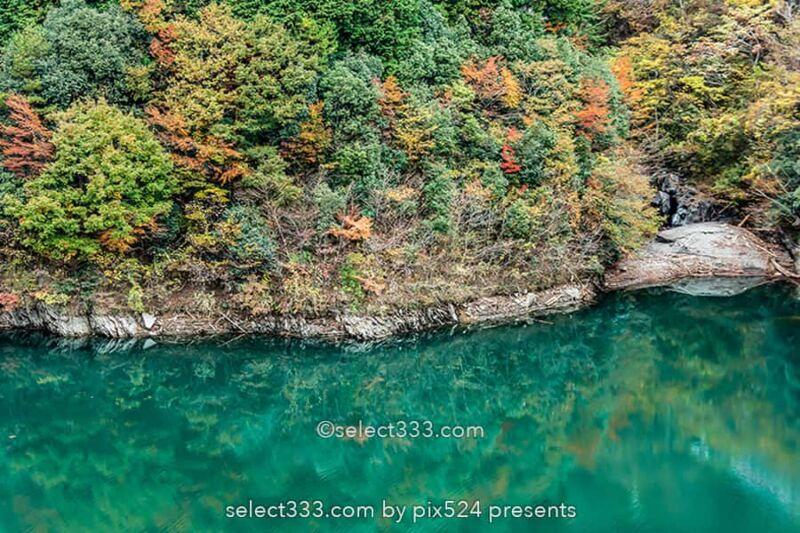 法皇湖と富郷ダムの紅葉撮影!四国中央市秋のドライブスポット!愛媛県の紅葉撮影地