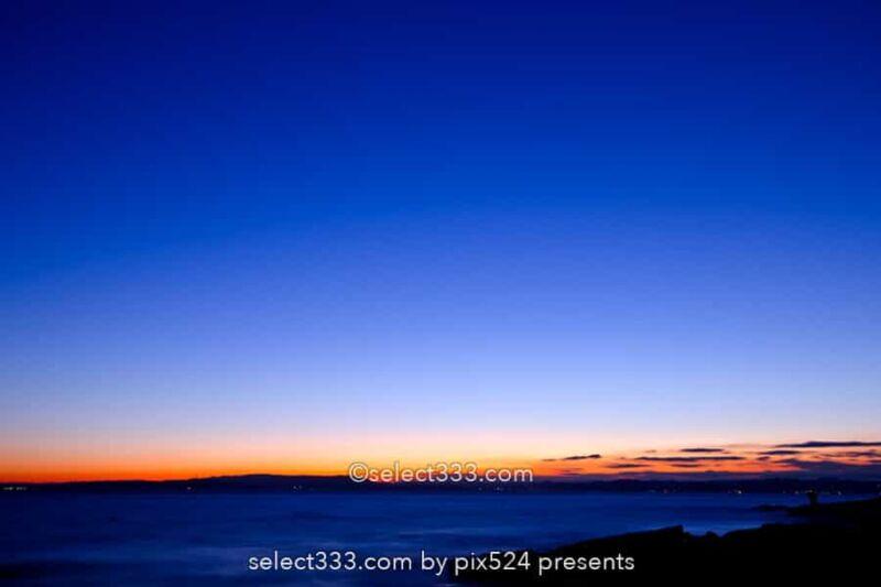 観音崎の朝日撮影!三浦半島東端から撮る房総半島に昇る日の出!初日の出スポット