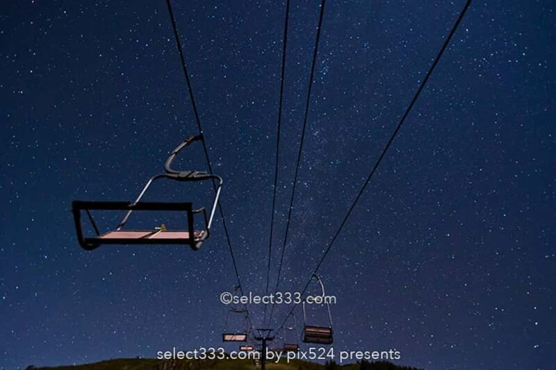 白根火山ロープウェイ山麓駅で星空撮影!満天の星の殺生河原!通行規制時の観測地