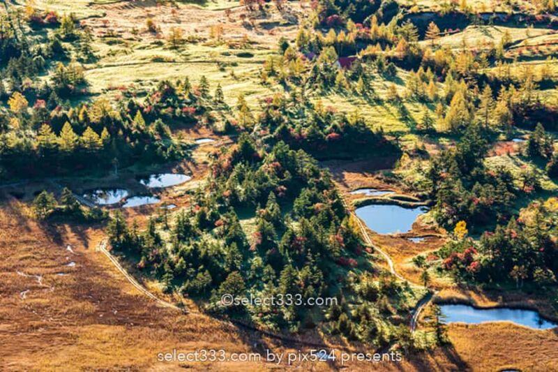 渋峠から見る芳ヶ平湿原の紅葉風景!日本国道最高地点からの景色!朝日・雲海・星空撮影