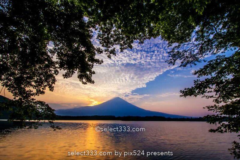 田貫湖の富士山と朝日!逆さ富士・ダイヤモンド富士の景勝地!朝焼けの絶景撮影地