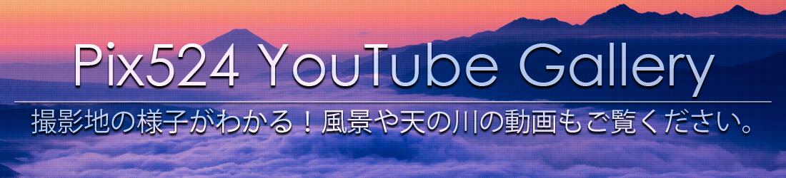 写真を楽しむブログ|Pix524 YouTube Gallery