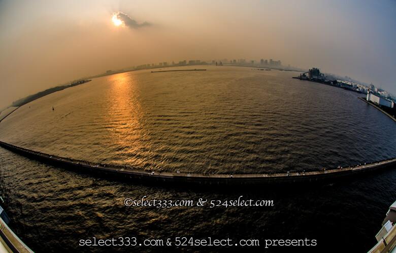 富士山とランドマーク東京ゲートブリッジのアクセスと撮影攻略!夕焼けに映える東京の風景