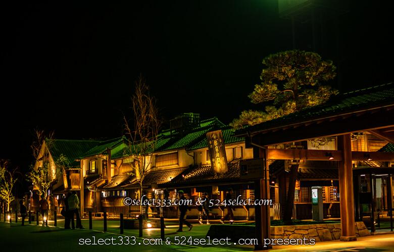 東北道羽生PA上り鬼平江戸処!撮影のために行く夜景スポット!一般道からのアクセス可