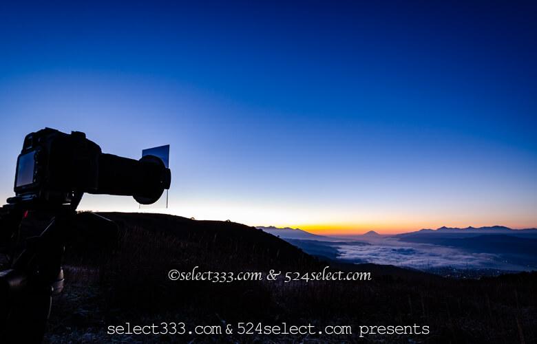 ハーフNDを使って明暗の強弱を調節しよう!朝日や夕日の撮影に!全景を撮りたい時のアイテム