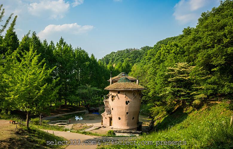 隠れスポット!あけぼの子どもの森公園でムーミンの家を体感!埼玉県飯能市のお勧め公園