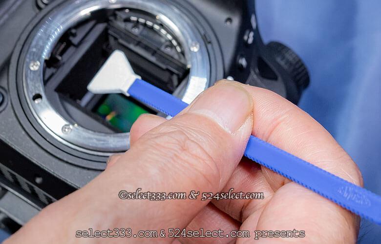 イメージセンサークリーニング!ペッタンでも落ちないゴミの除去!カメラ内を綺麗に掃除!