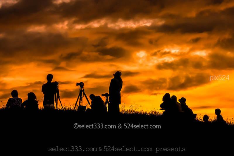 夕焼け空のシルエット撮影方法!影絵のような夕暮れ風景撮影!夕焼けの切り絵写真撮影|写真を楽しむブログ 撮影地と撮影方法