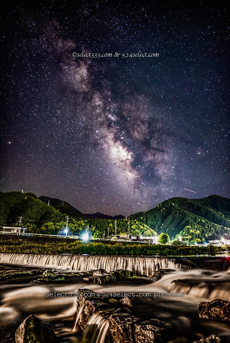愛媛県新居浜市内から撮る天の川!天の川撮影をタイムラプスに!四国地方の天の川撮影