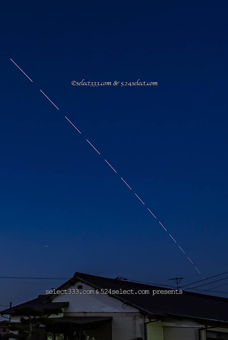 国際宇宙ステーションを撮ろう!ISSの軌跡撮影方法と撮影計画!ISSの現在地と撮影アイテム