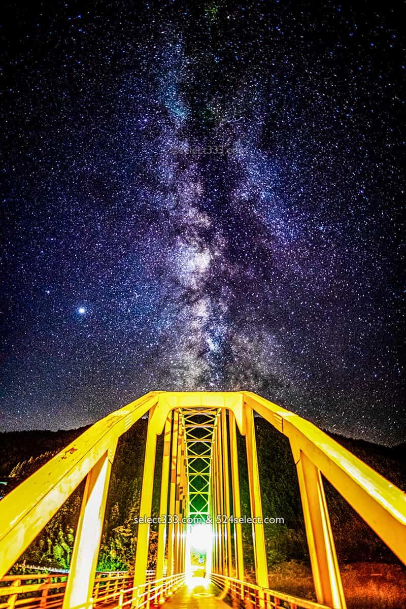 土佐郡大川村で天の川撮影!高知県の天の川銀河観測と撮影レポ!四国ど真ん中の大川村