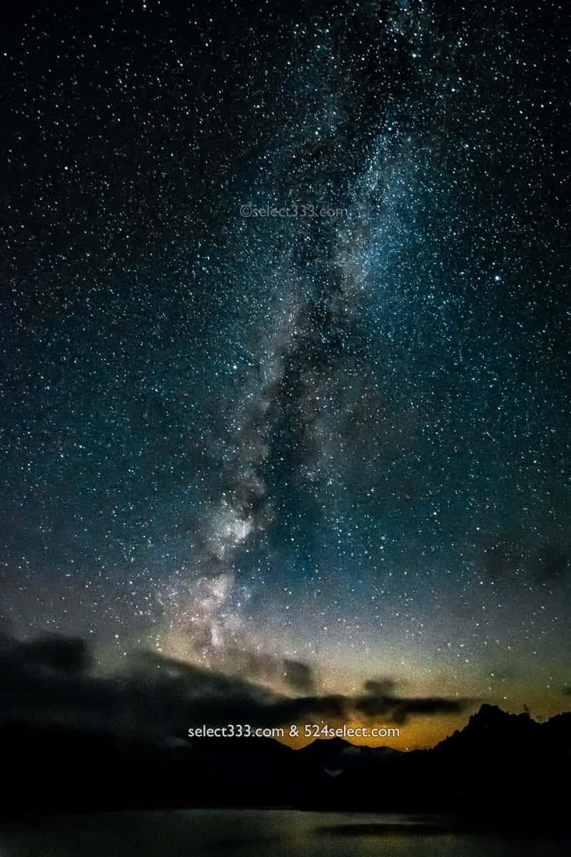田子倉ダム・只見湖の流星群と天の川!星の観測・撮影ベスポジ!福島県の天の川撮影地