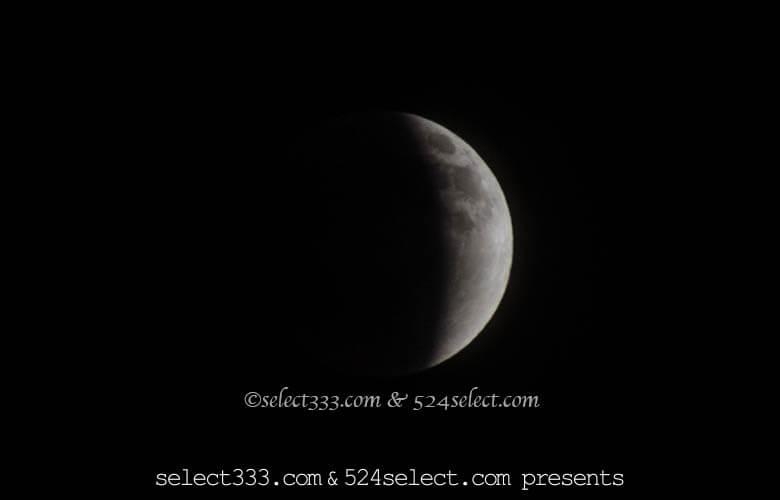 2018年1月31日の皆既月食を撮影しよう!月食は見れる?