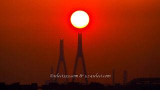 日の出の位置朝日の方角を知り撮影する横浜の海が見える風景!初日の出にも応用する撮影計画