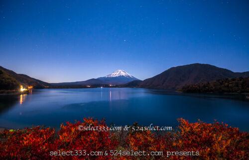 夜の富士山を撮ろう!月明かりで映える夜空と富士山の撮影攻略!夜ならではの風景