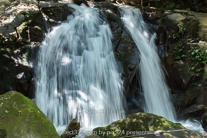 鹿児島市内の隠れた瀑布「ふずん滝」ひと気の無い滝の風景!知られぬ田園地帯の滝