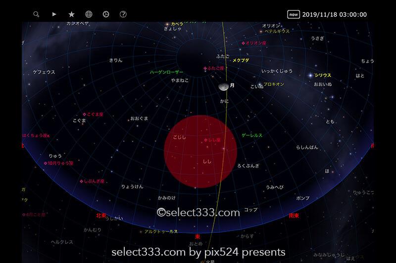 2019年版しし座流星群の観測と撮影方法!秋の流星群撮影のコツ!紅葉風景と流れ星