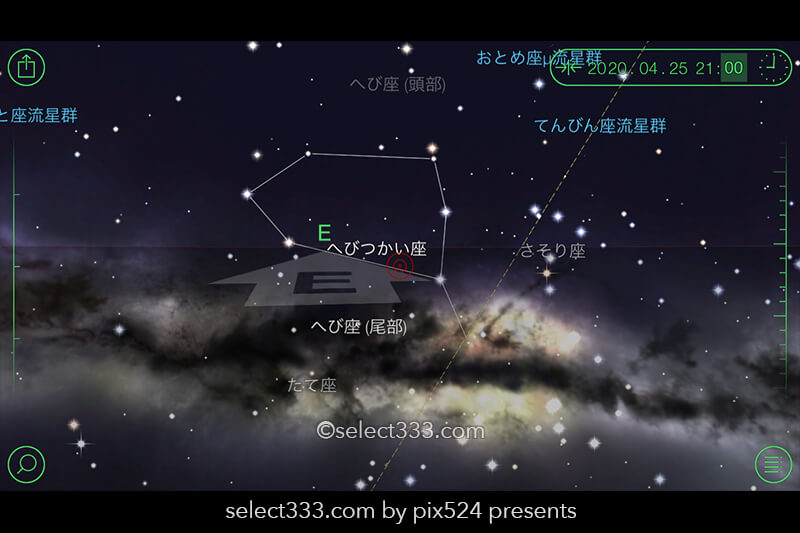 4月の天の川が見える日時と方角!4月の天の川の撮影と観測!2020年版天の川撮影候補日