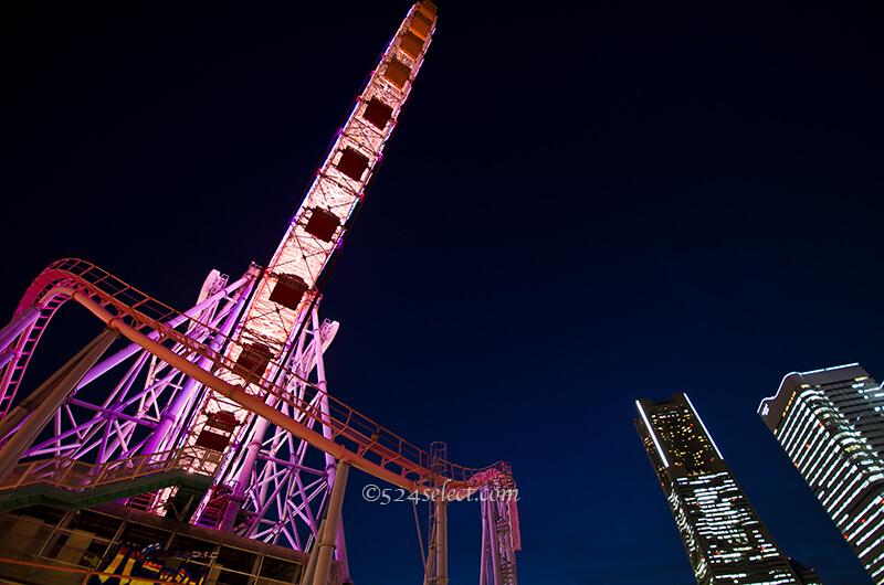 横浜の観覧車よこはまコスモクロック21夜景撮影はこの日に!観覧車撮影の秘密