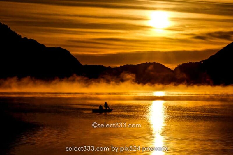 湖霧・川霧・毛嵐の撮影!幻想的な朝霧・夜霧・海の霧や湖面の霧!自然現象による被写体